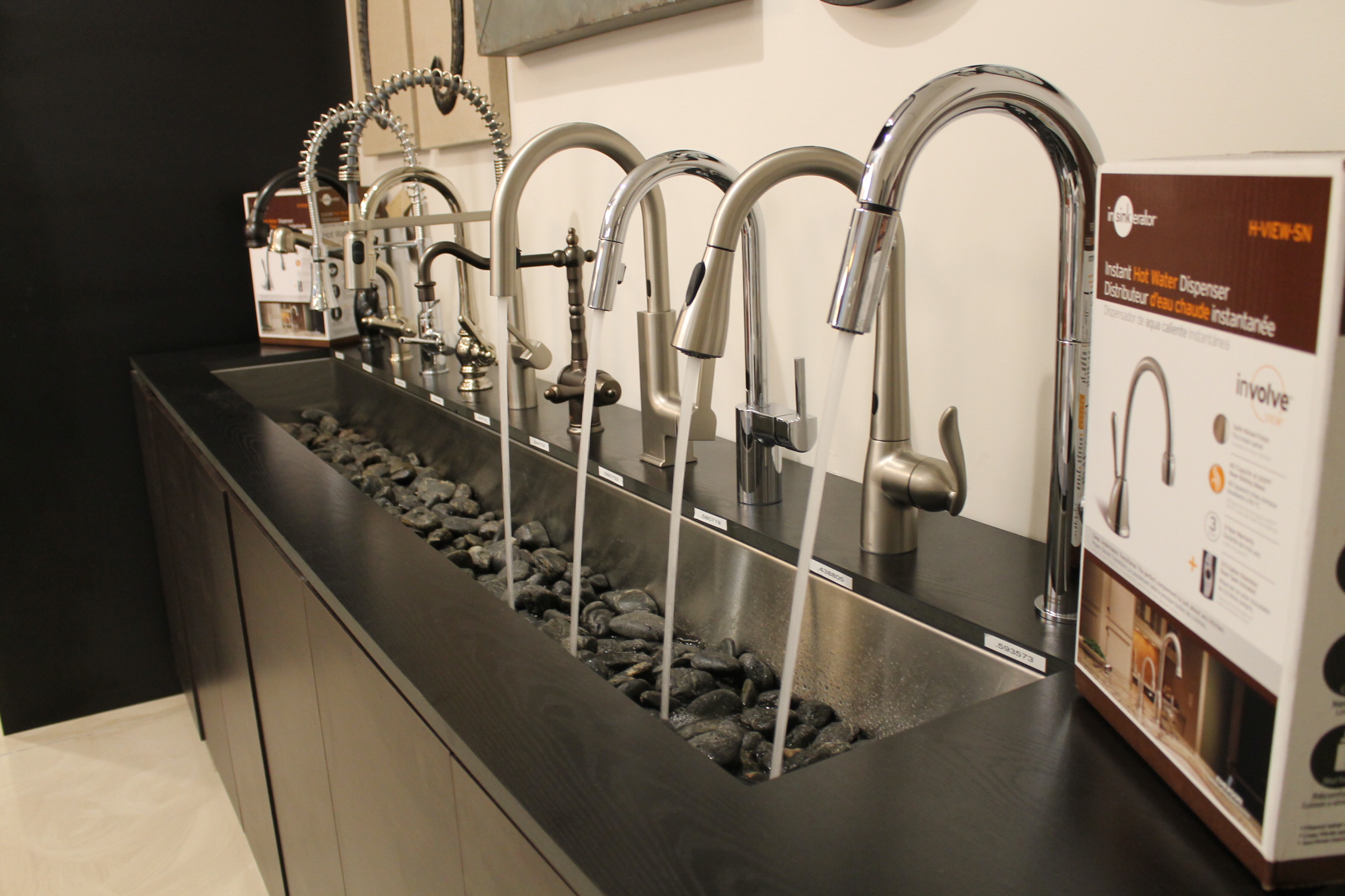 Faucet Display Area